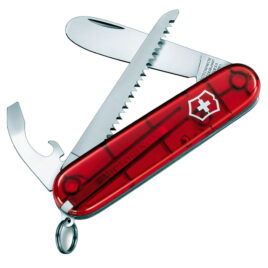 My First Victorinox Pocket Knife with Rounded Tip and Saw