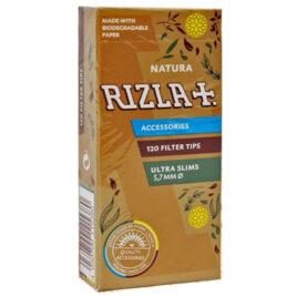 Rizla Filter Tips for RYO cigarettes; Natura Ultra Slim 120; 5.7mm
