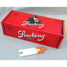 Smoking Cigarette Tubes de Luxe, Filter; 200 Kingsize