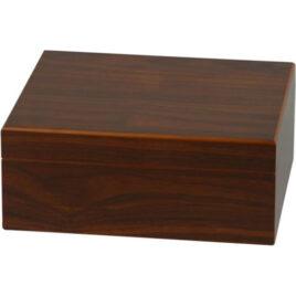 Walnut Finish Humidor; 25 cigars;110x260x220mm