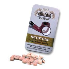 Bowl Filter: Refillable tin Keystone lava pellets,approx.10g