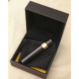 Dunhill Classic Black Gadget with brass tamper and cleaning rod