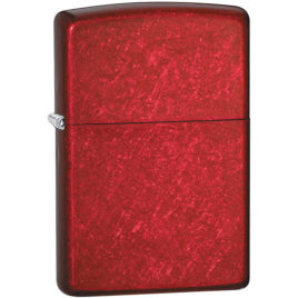 Zippo lighter, Candy Apple Red, classic finish