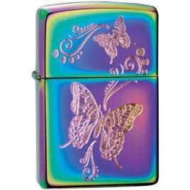 Zippo lighter, Butterflies on Spectrum (151)