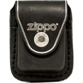 Zippo Lighter Pouch, with Clip, Black