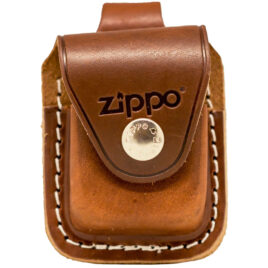 Zippo Lighter Pouch, with Loop, Brown