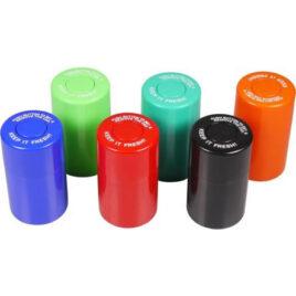 PU storage box, air tight, approx. 200ml; 10cm high; Ø 6cm