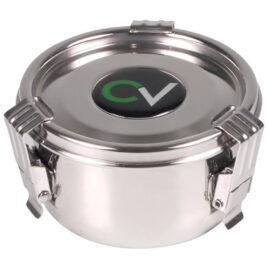 CV Premium storage box stainless steel air tight 175ml; 5cm high
