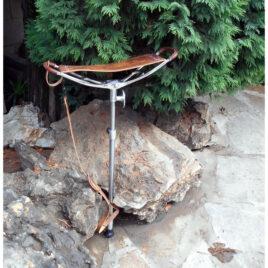 Walking Seat Stick; spike or ferrule; seat height 560 to 830mm